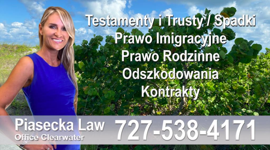 Polscy-Adwokaci-Polski adwokat prawnik Floryda Testamenty Trusty Spadki Prawo Imigracyjne Rodzinne Odszkodowania Kontrakty Wypadki